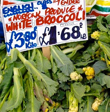 Love Norfolk Food Brocolli